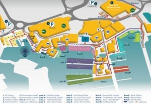 Limassol Boat Show Outdoor Map 2019