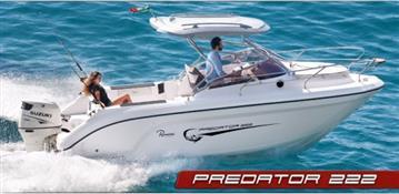 Ranieri Predator 222 Sport Fishing