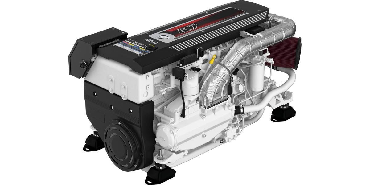 Mercury Diesel 6.7 Marine Engine