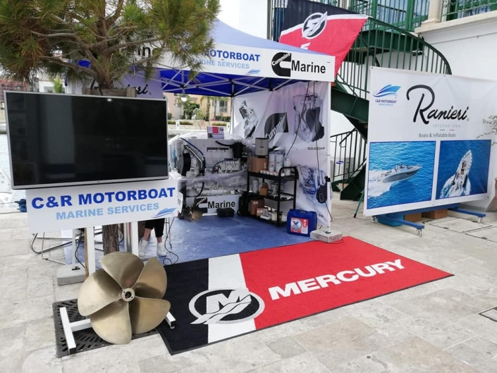 C&R Motorboat at Limassol Boat Show 2019